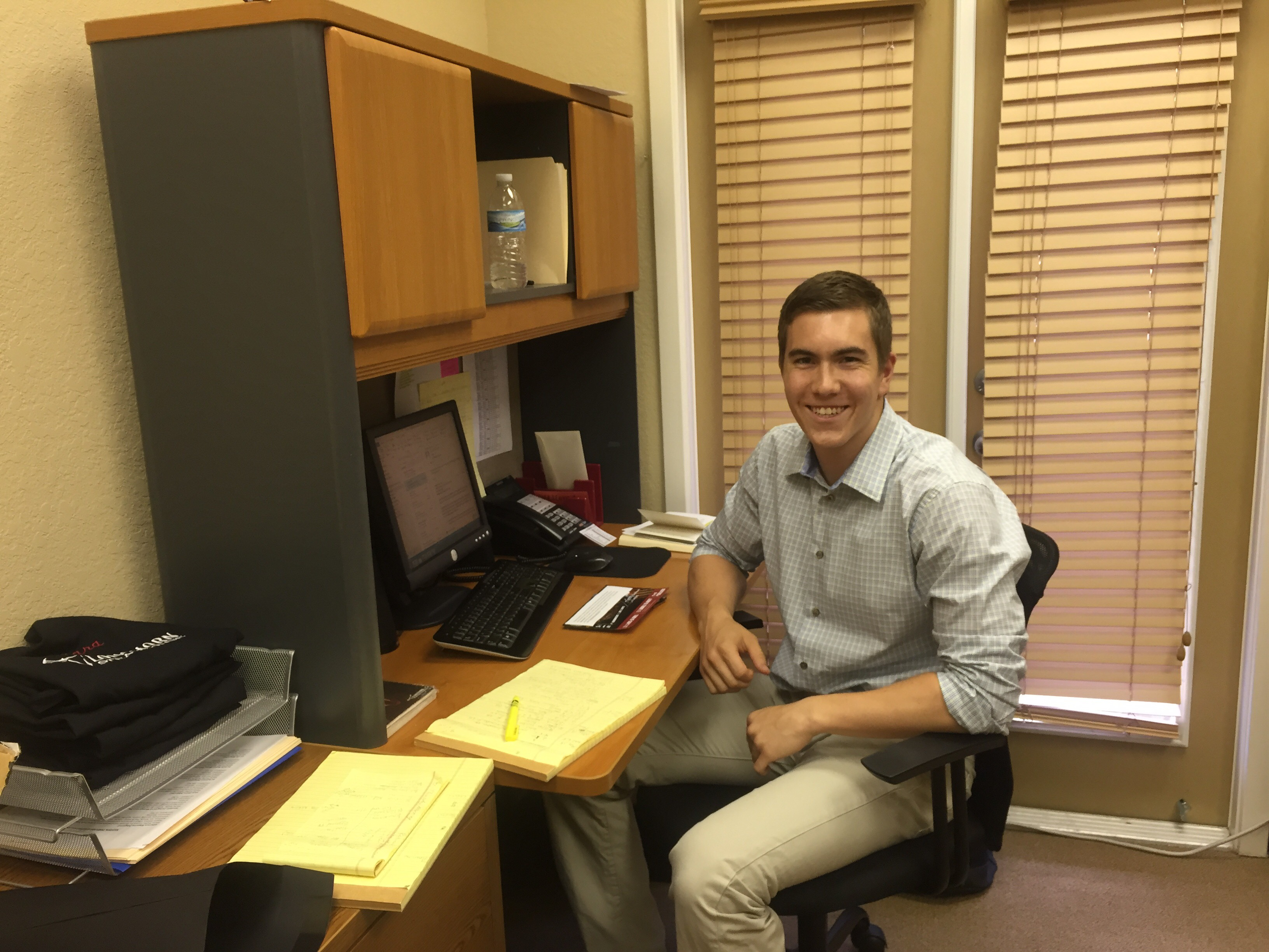 Caleb Liptak - Summer 2015 Intern
