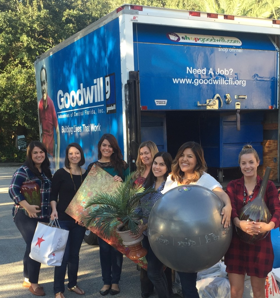 Goodwill donation drive 2